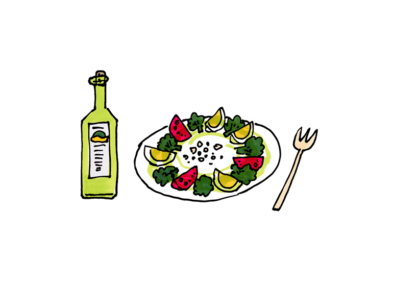 oil&salad